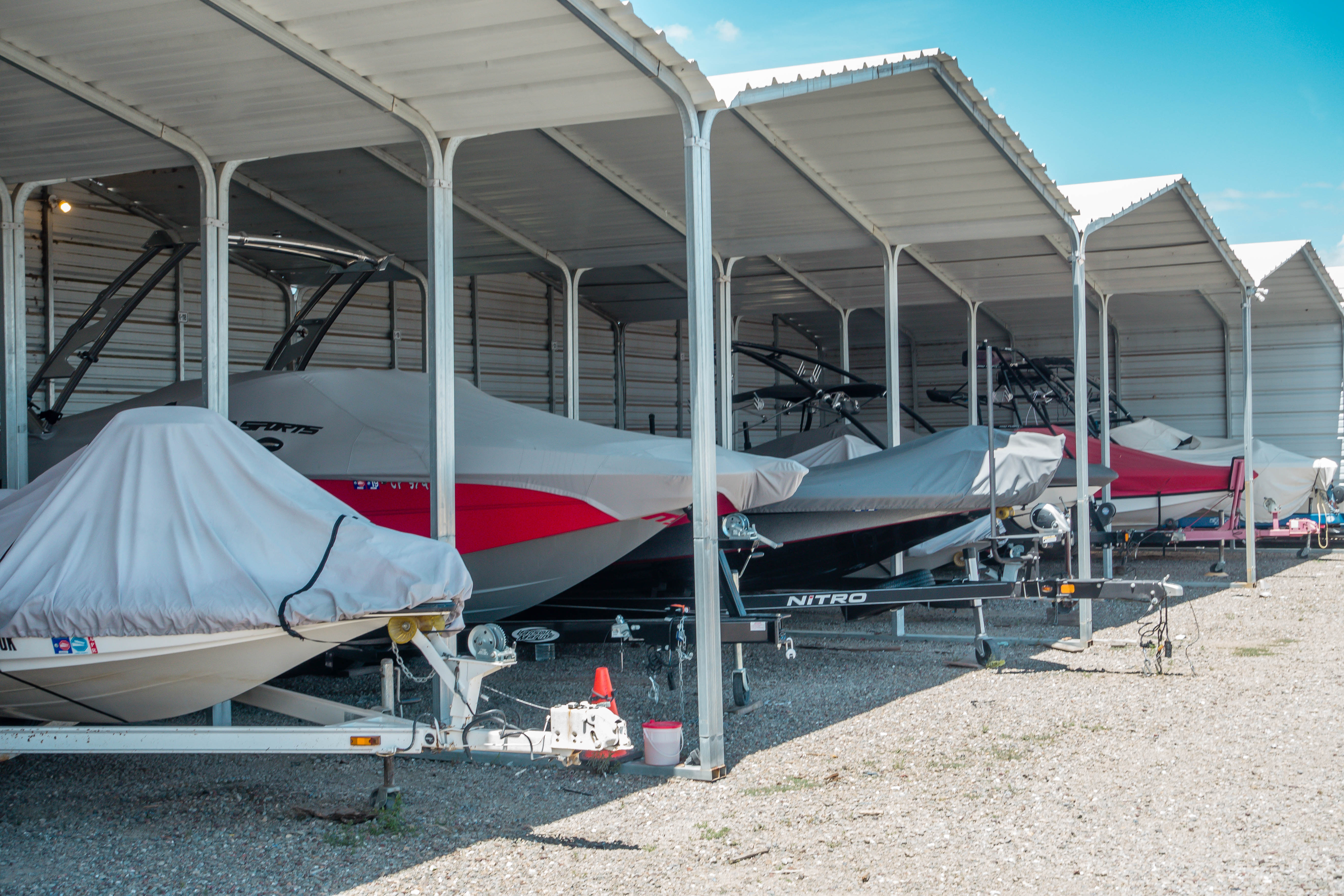 Delta Boat Storage | covered boat storage available