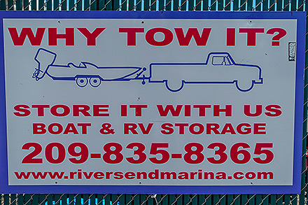 why tow it when you can stow it? Delta boat storage!